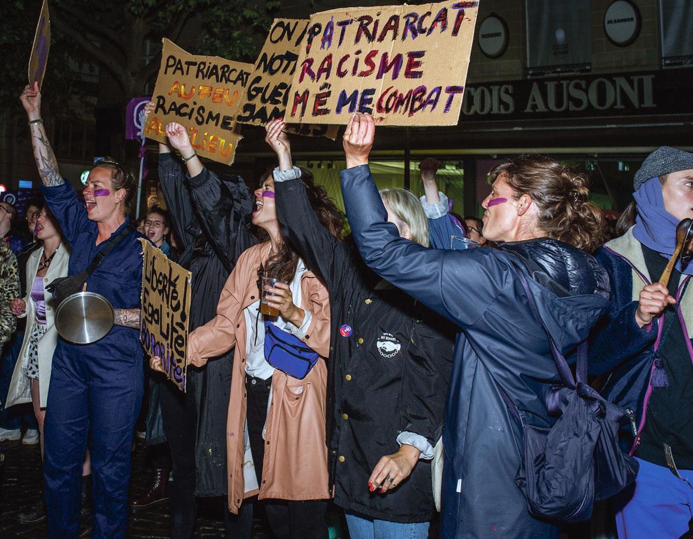 Greve féministe 2020, Lausanne