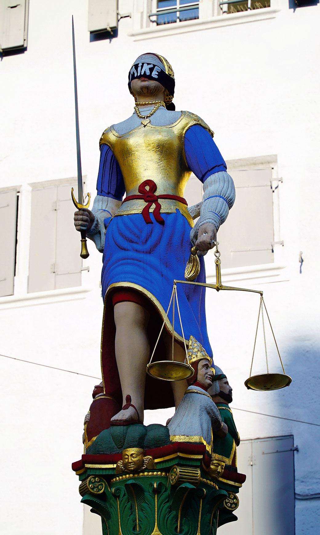 Action justice pour Mike, Lausanne, 23 juillet 2020