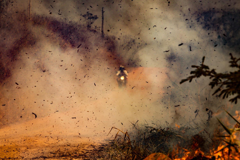 Incendies à Rio Branco, Amazonie, Brésil, 20-08-2020