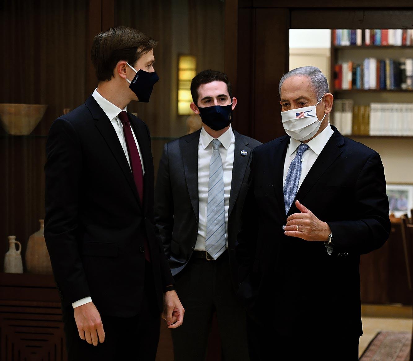 Jared Kushner et Benjamin Netanyahu, 30.08.2020