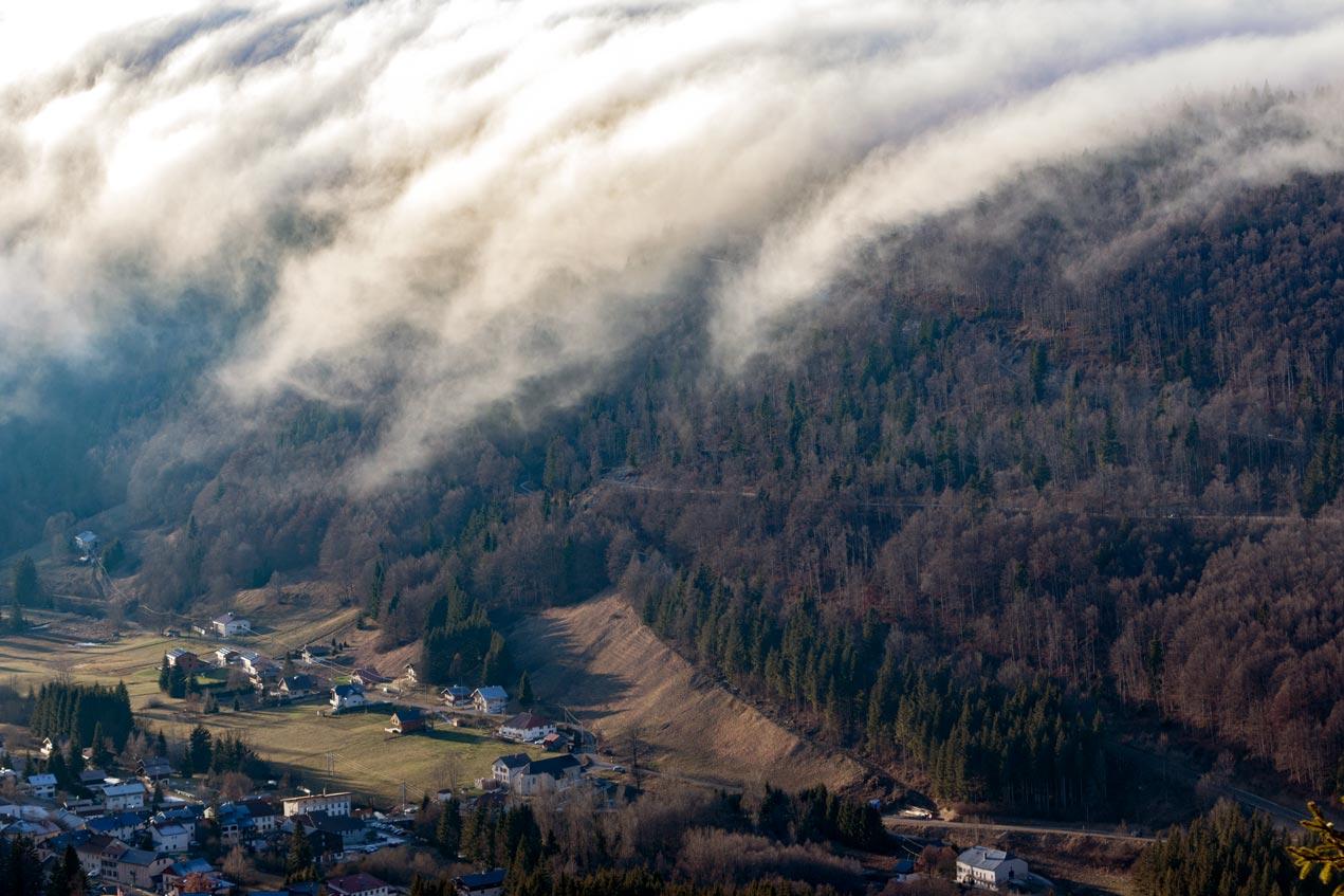 Photo aérienne du Jura