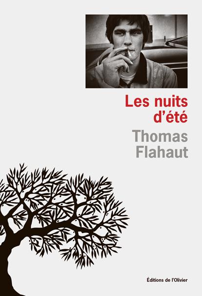 """Couverture du livre de Thomas Flahaut, """"Les nuits d'été"""""""
