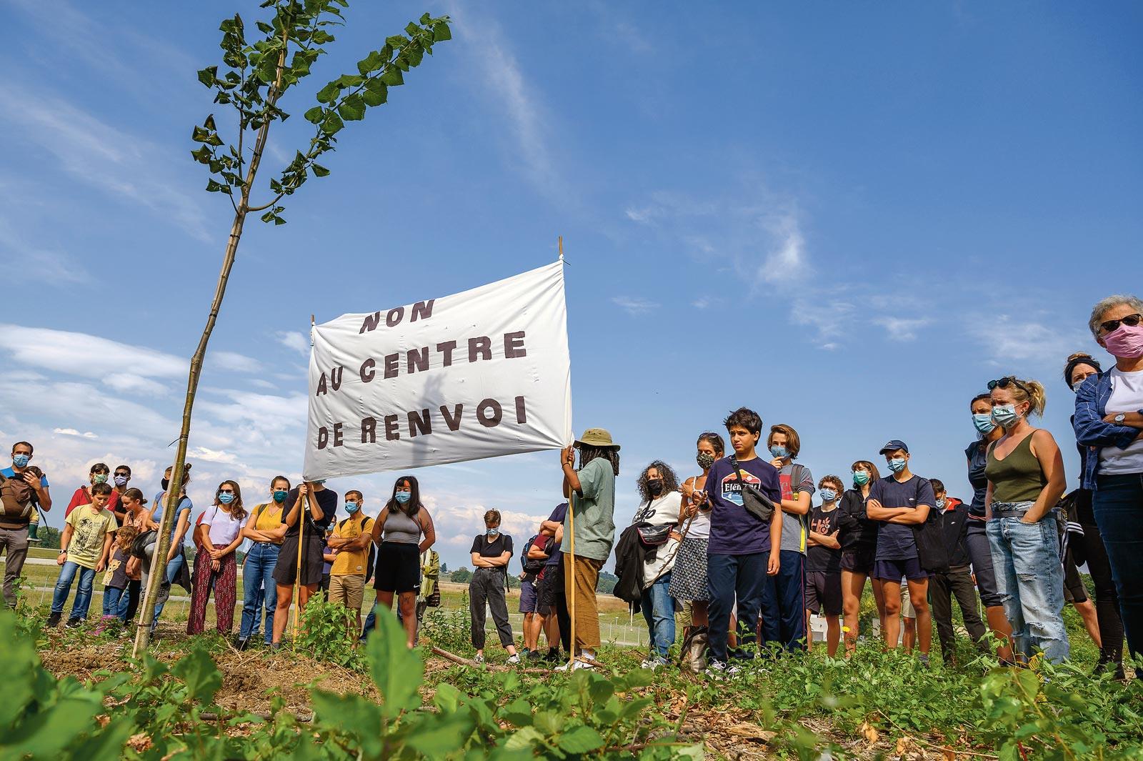 action non au centre de renvoi Genève, Eric Roset