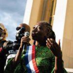 Danièle Obono, rassemblement de soutien, Paris, 6 septembre 2020
