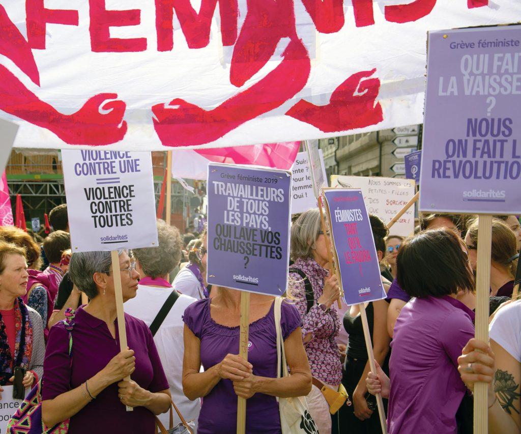 Grève féministe 2019, Lausanne