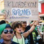 Manifestation anti-chlordécone, Martinique, 2019
