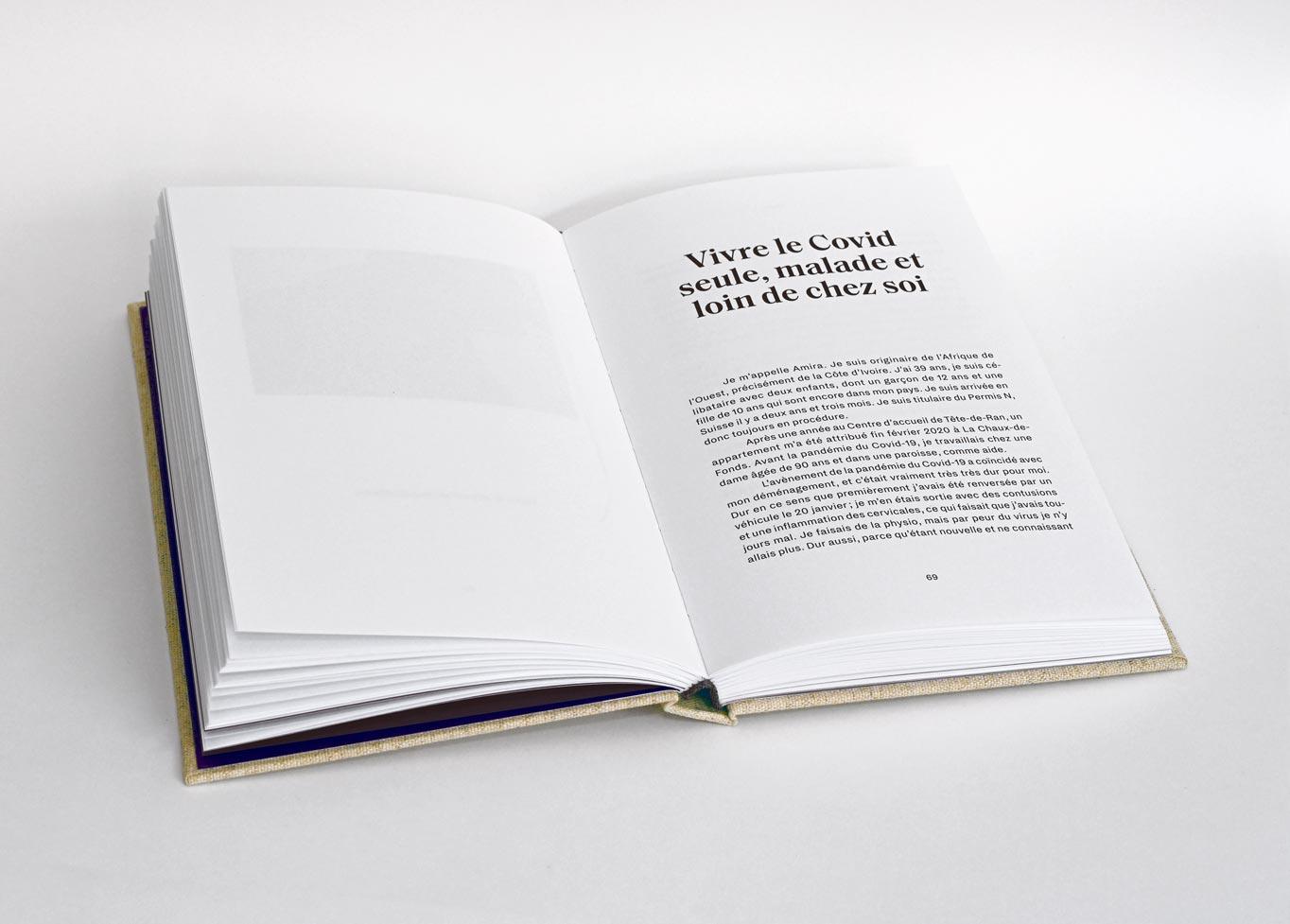 """Livre """"Derrière les murs/Récits de migrantes au temps du Covid-19"""" de la Marche mondiale des femmes"""