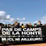 Manifestation contre le centre de renvoi, Genève, 3 octobre 2020. Pas de camps de la honte