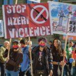 Rassemblement contre l'escalade militaire de l'Azerbaïdjan et de la Turquie contre l'Arménie, Berne, 30 septembre 2020