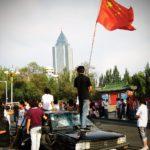 Manifestation Han contre des Ouïgours à Urumqi