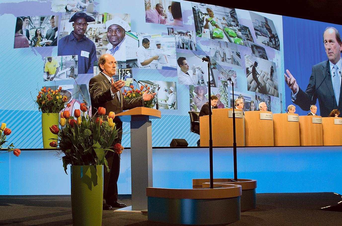 Paul Bulcke, PDG de Nestlé
