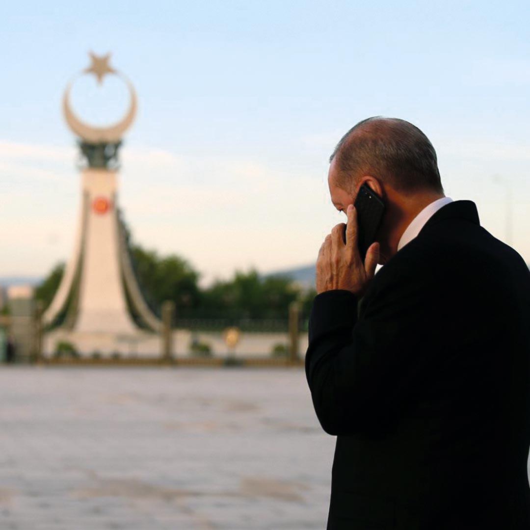 Recep Tayyip Erdogan à Ankara