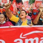 Manifestation contre Amazon, Bangladesh, 27 novembre 2020