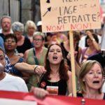 La fonction publique a manifesté à de nombreuses reprises contre le projet (manifestation du 20 septembre 2018).