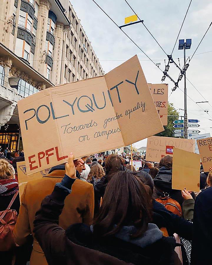 polyquity greve des femmes lausanne 2019