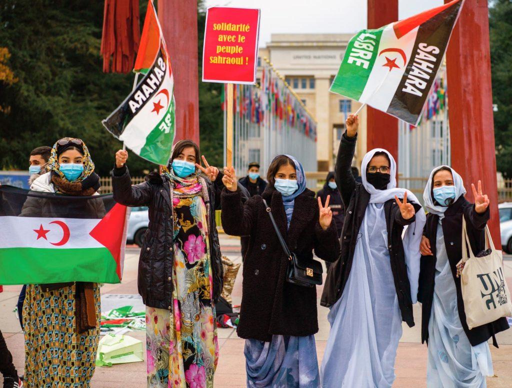 Rassemblement de soutien au peuple sahraoui