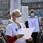 Action d'Urgence convergences, Genève, novembre 2020