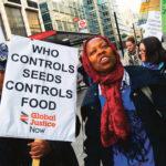 manifestation contre Bill Gates et l'AGRA
