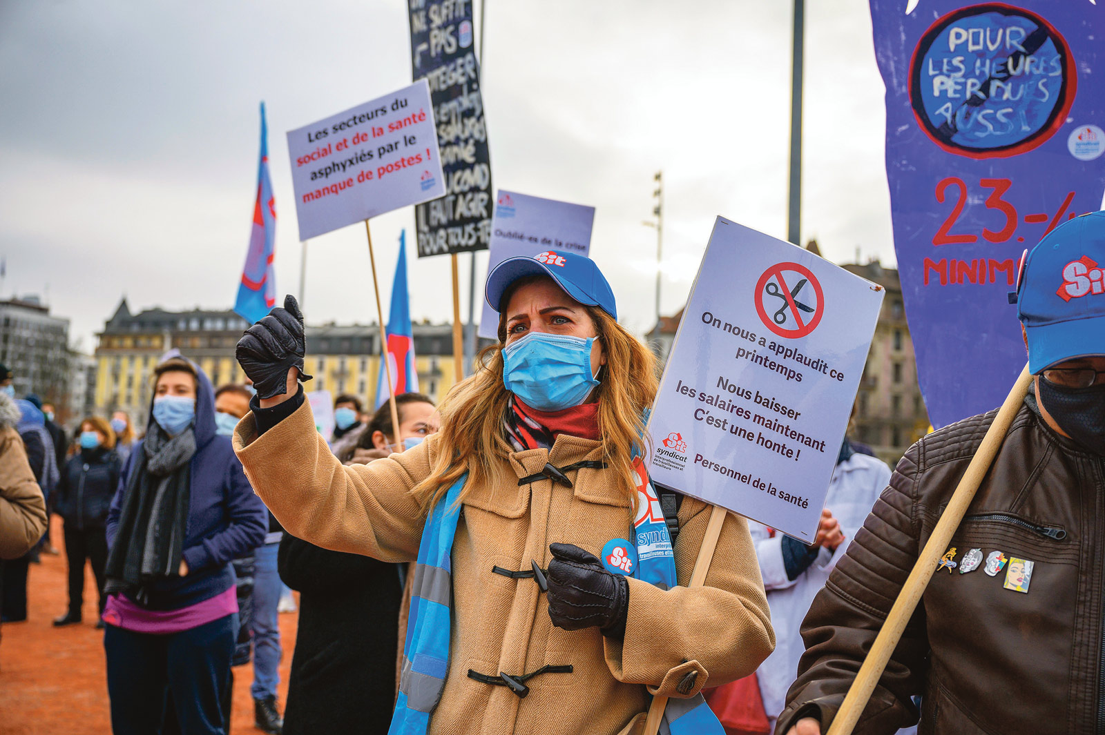 Manifestation sortie de crise geneve decembre 2020_Eric roset