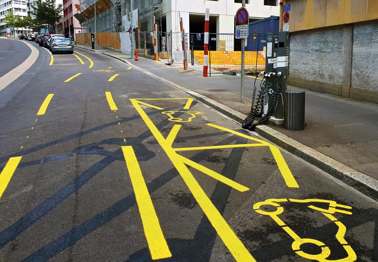 La ville a accéléré la mise en place de pistes cyclables lors du premier confinement