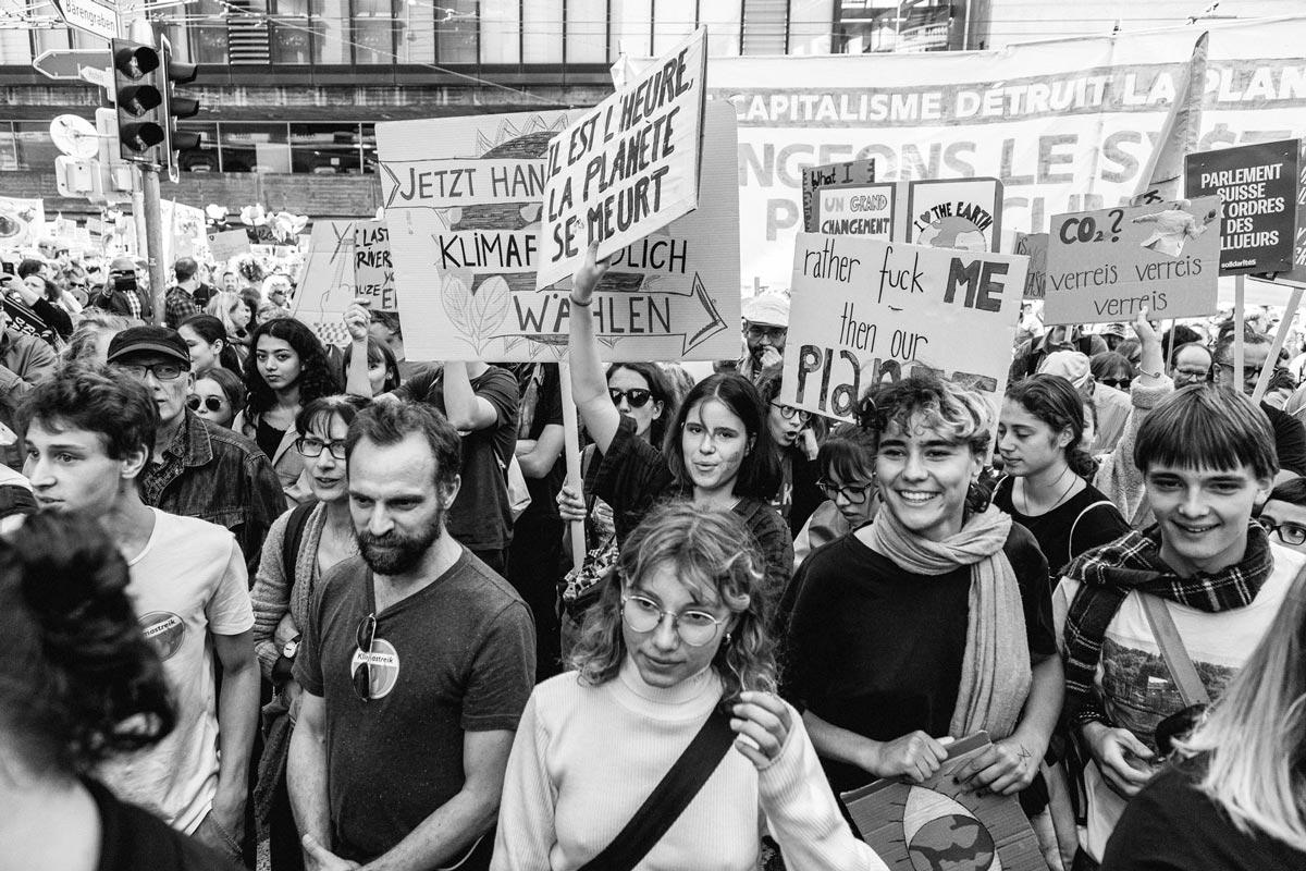 Manifestation nationale pour le climat, Berne, septembre 2019