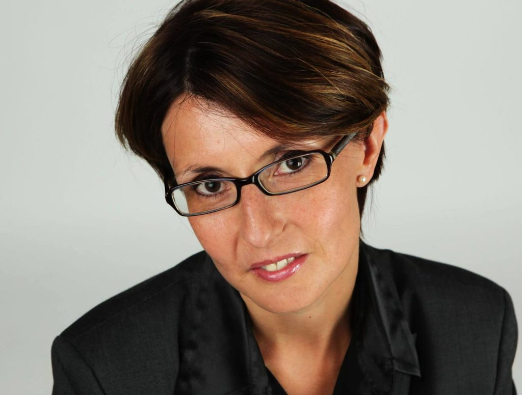 Portrait de Nadine Gobet directrice de la Fédération patronale fribourgeoise