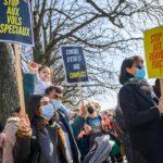 Rassemblement stop renvois, Genève, 24 février 2021