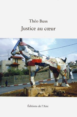 Théo Buss, Justice au cœur, couverture