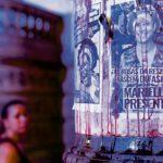 Affiche avec le portrait de Mareille Franco, Rio de Janeiro, 2021