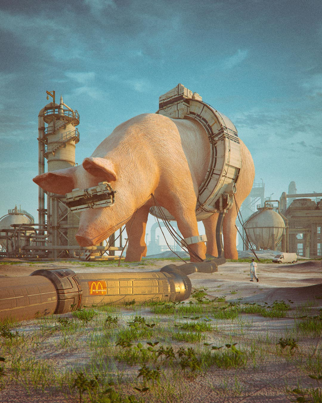 Beeple, McDonalds 2185