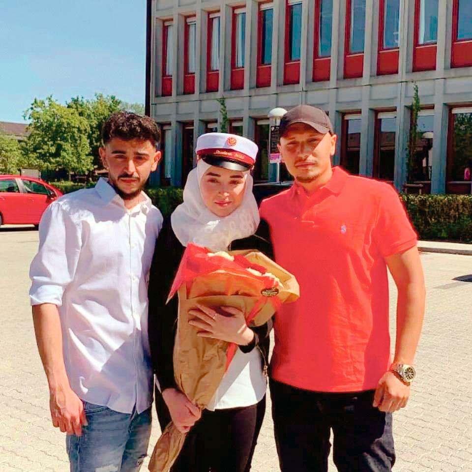 Faeza, réfugiée syrienne au Danemark, qui va être expulsée