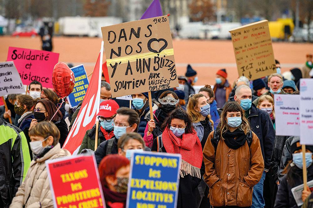 Rassemblement pour une sortie de crise solidaire, Genève, 19 décembre 2020