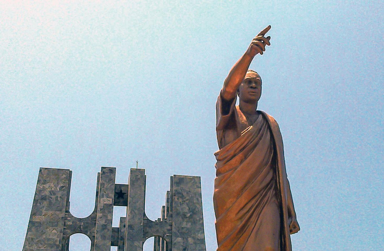 Mémorial Kwame Nkrumah à Accra