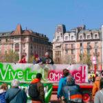 Rassemblement pour la Journée internationale des luttes paysannes