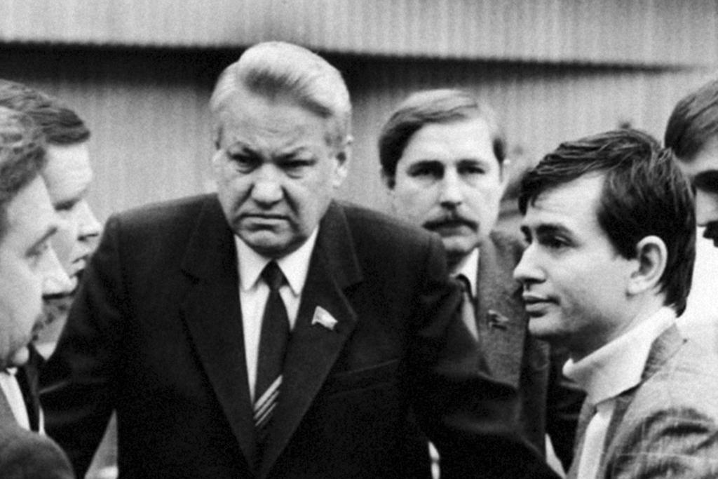 Boris Eltsine au Congrès des députés du peuple de l'URSS, 1989