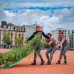 Action de Foofwa d'Imobilité pour le lancement de l'initiative climat urbain