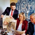 André Ventura avec Marine le Pen