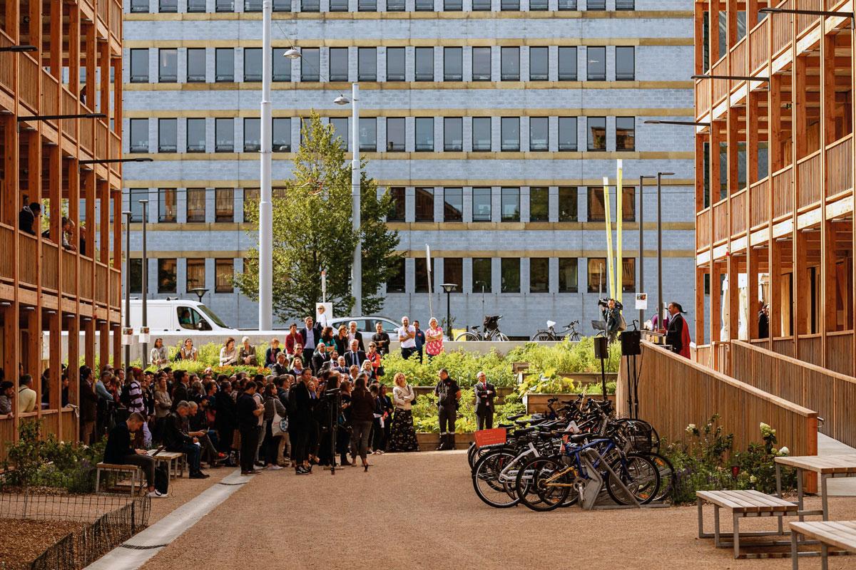 Inauguration du centre d'hébergement de Rigot, Genève