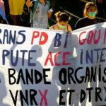 Banderole Trans PD Bi Gouine Pute ACE Inter