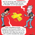 Bande dessinée qui dénonce les Pandora papers