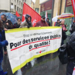 Banderole Pour des services publics de qualité
